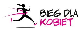 Logotyp Bieg dla Kobiet