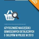Użyteczność najczęściej odwiedzanych detalicznych e-sklepów w Polsce w 2013